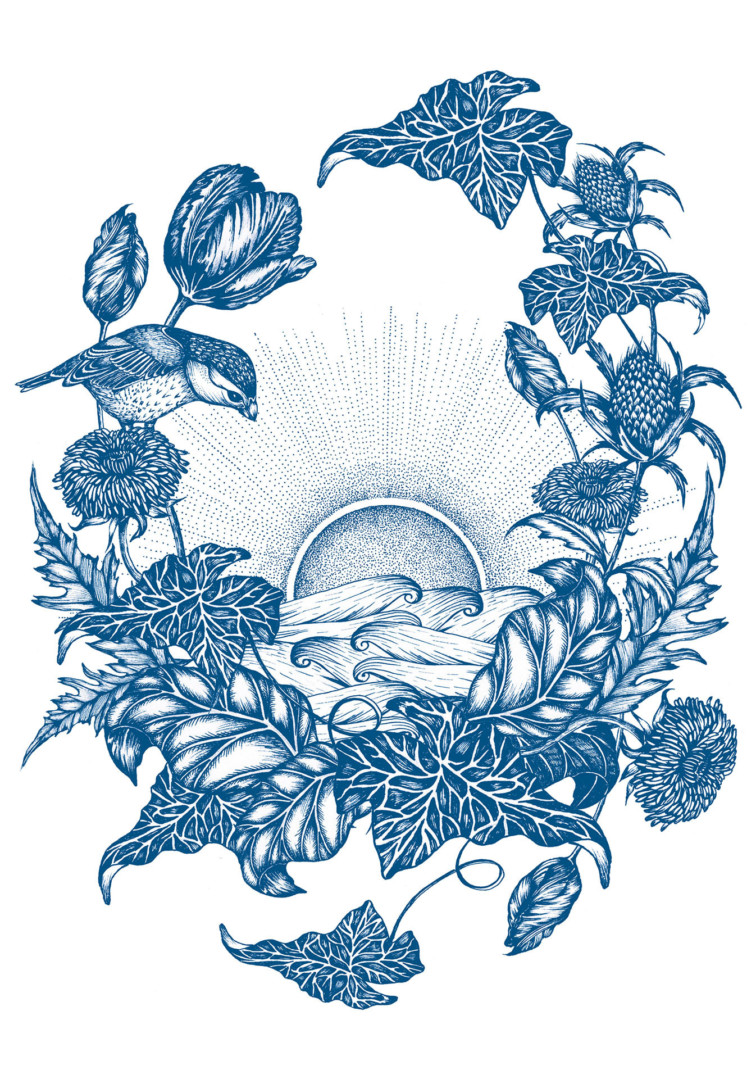Mindpattern3 Blue