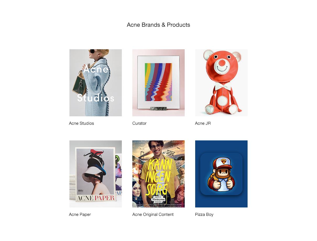 Acne Brands