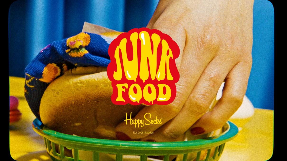 Happysocks Junkfood Logo